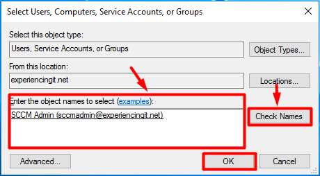 SCCM Site Server Local Admin