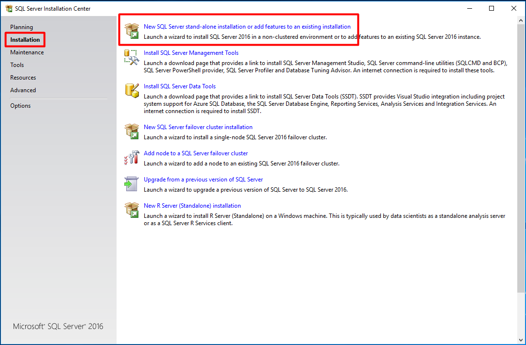 Install SCCM Current Branch – Part 9 – Prerequisites (Install SQL