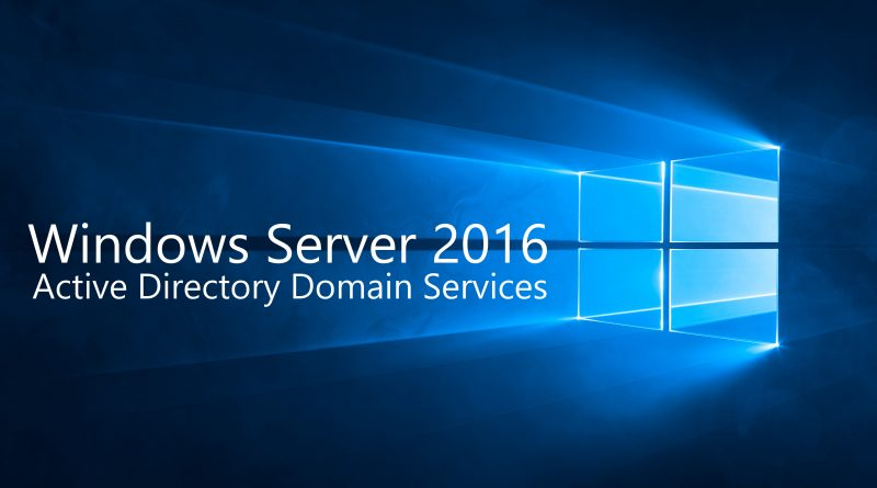Install Active Directory Domain Services