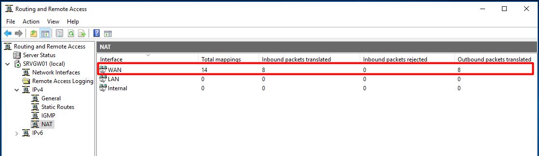 Setup Windows Server 2016 as a NAT Router