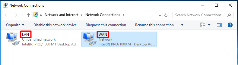 Setup Windows Server 2016 as a NAT Router