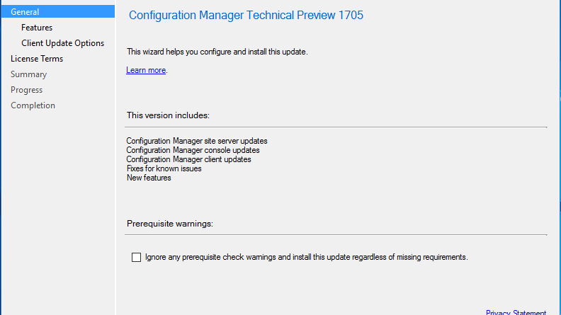 Update SCCM Current Branch – ExperiencingIT