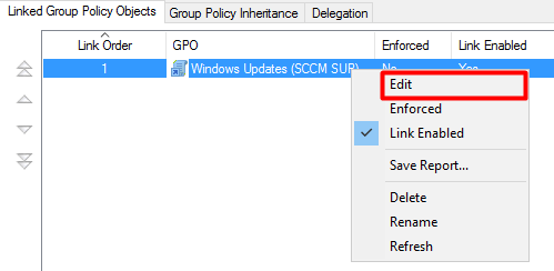 Deploying SCCM client using SUP