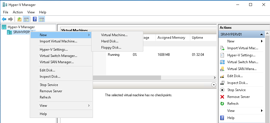 Configuring Hyper-V Remote Management