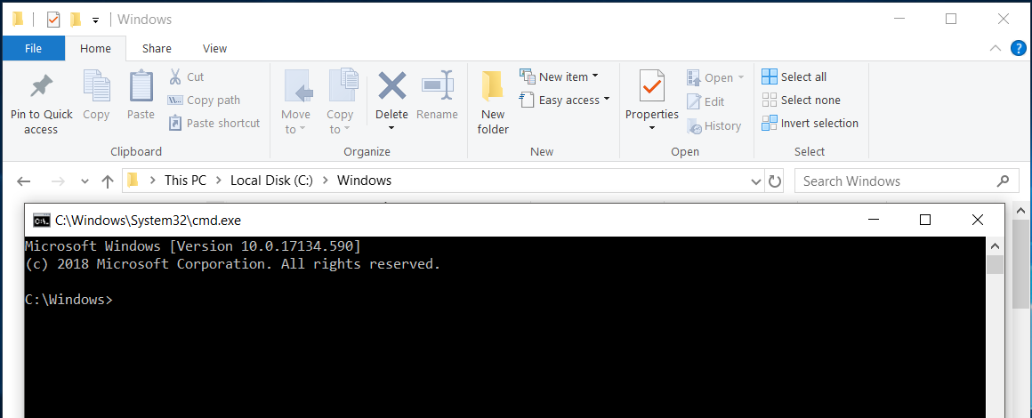 Windows 10: Open Powershell or CMD from anywhere! – ExperiencingIT
