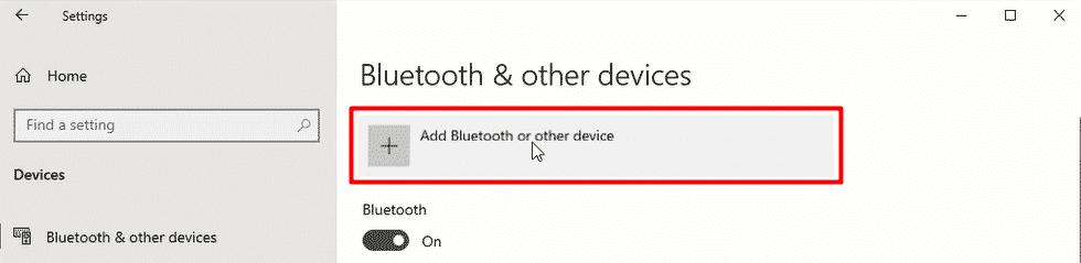 Add Bluetooth Device 2