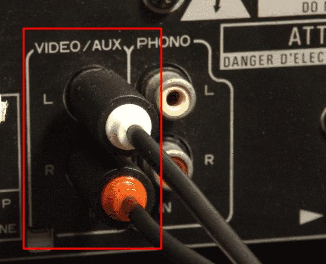 Plug RCA Stereo Amp