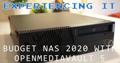 Budget NAS 2020 Openmediavault 5