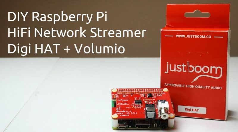 Volumio Raspberry Pi Streamer